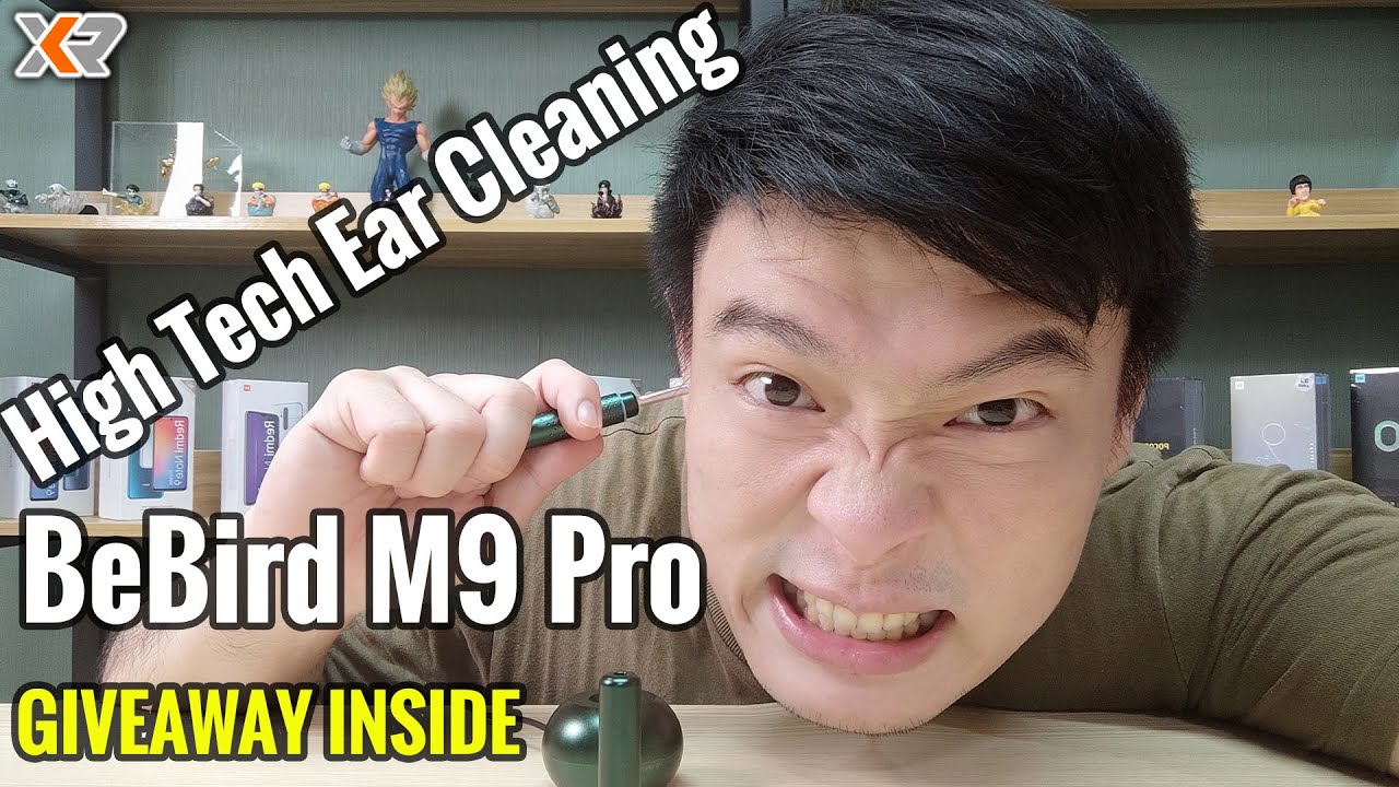 BeBird Smart Visual Endoscopic Ear Stick M9 Pro Review - Ear Wax Cleaning Made Easy!