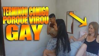 TROLLANDO O NAMORADO E A SOGRA - ELE VIROU GAY !!