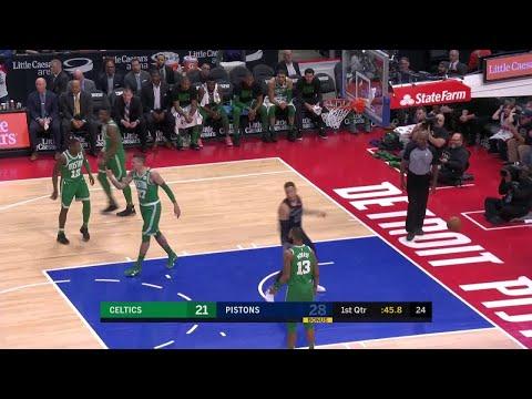 1st Quarter, One Box Video: Detroit Pistons vs. Boston Celtics