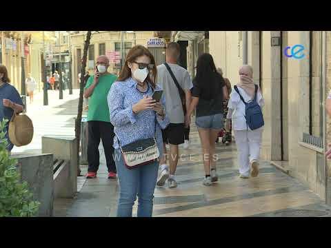 150 personas aisladas en Ceuta