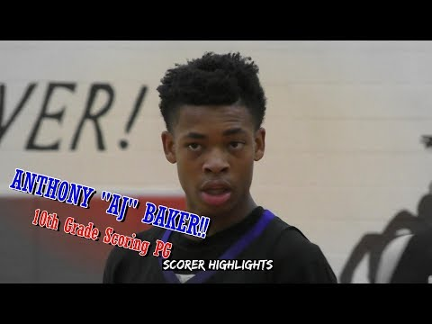 """2020 PG Anthony """"AJ"""" Baker Shows Out in HCA Season Debut!!"""