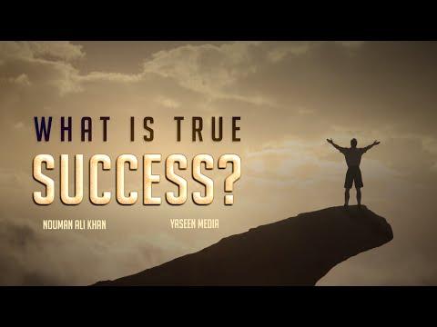 What Is True Success - Nouman Ali Khan - Yaseen Media