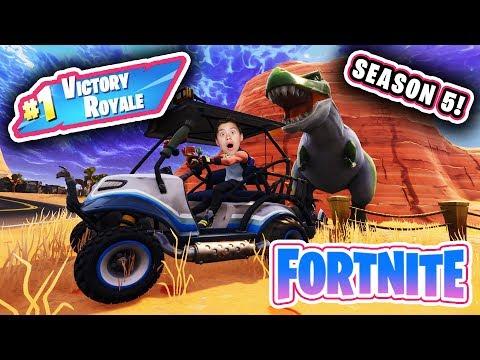 3AM FORTNITE GAMEPLAY!!! Evan Reacts to Season 5!  Victory Royale! thumbnail