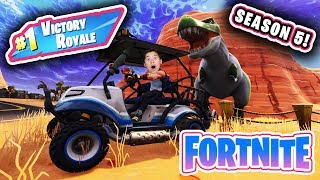 3AM FORTNITE GAMEPLAY!!! Evan Reacts to Season 5!  Victory Royale!