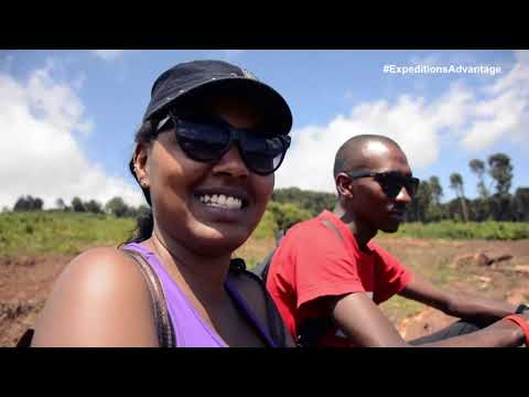Expeditions Maasai Safaris : Mt Kenya day Hike through Castle Forest Lodge