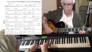 You And The Night And The Music - guitar & piano Jazz cover ( Arthur Schwartz ) Yvan Jacques