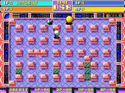 bomberman arcade machine