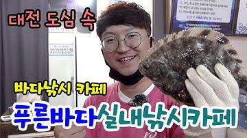 [후광배스] 대전에서 바다낚시를?(feat푸른바다실내낚시카페)