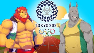 Furry Olympics. Wild Animal Sports Day. PC. Funny Gameplay Moments.
