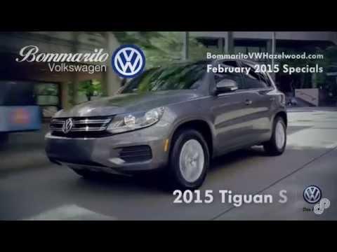2015 Volkswagen Tiguan S Lease Offer Bommarito VW February 2015 SP