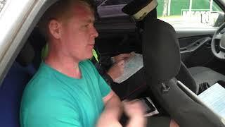 Пьяный на Нексии уснул с бутылкой в обнимку, Нововятск  Место происшествия 02 07 2020
