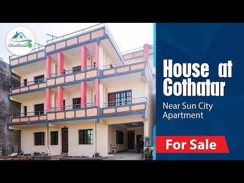 House At Gothatar   Near Sun City Apartment, Kathmandu, Nepal