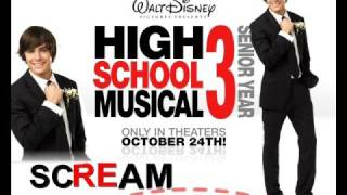 Scream - Nueva cancion de HSM3- Zac Efron