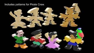 Wood Toy Plans - Pirate Ship & Pirate Cove Play Set
