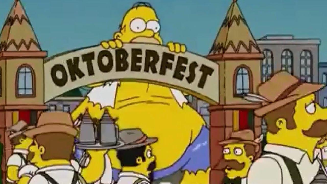 Simpsons Oktoberfest - YouTube