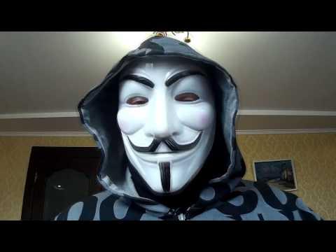 Легендарная маска Гая Фокса,или Анонимус из Китая