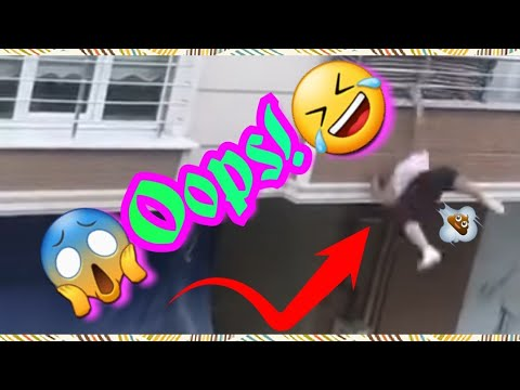 ? Balcony #FAIL! (#Funny ending try not to luagh!)