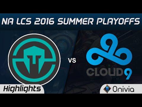 IMT vs C9 Highlights Game 1 NA LCS 2016 Summer Playoffs Semi Finals Immortals vs Cloud9