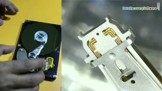 Internal parts of hard disk and how hard drive works