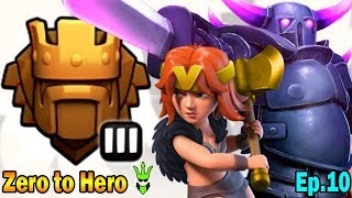 Is GoVaPe the Best TH9 Push Army? - TH9 Zero to Hero Ep.10 - Clash of Clans - TH9 Push to Legends