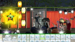 How To Build Your OWN Stage For Concerts - TS4 Road To Fame MOD