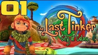 "The Last Tinker City of Colors Walkthrough Part 1 ""Earnings & Race"" Gameplay Lets Play"