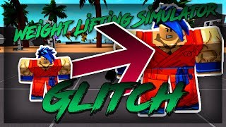 ROBLOX - Weight Lifting Simulator 2 - Grow Strong Fast and Stay Small Glitch!