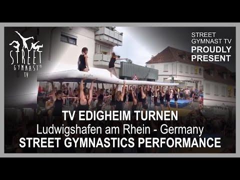 Germany, Street Gymnastics with TVE Gymnastics, Ludwigshafen am Rhein - Edigheim