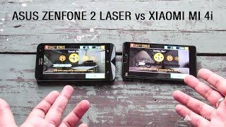 xiaomi mi 4i vs asus zenfone laser comparison review full