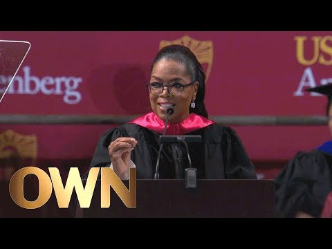 """Oprah to USC Grads: """"Stop Comparing Yourself to Other People"""" 