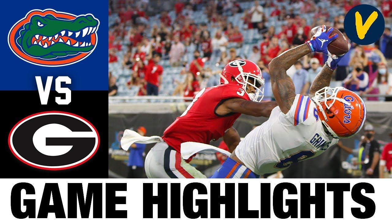 8 Florida Vs 5 Georgia Highlights Week 10 2020 College Football Highlights Youtube