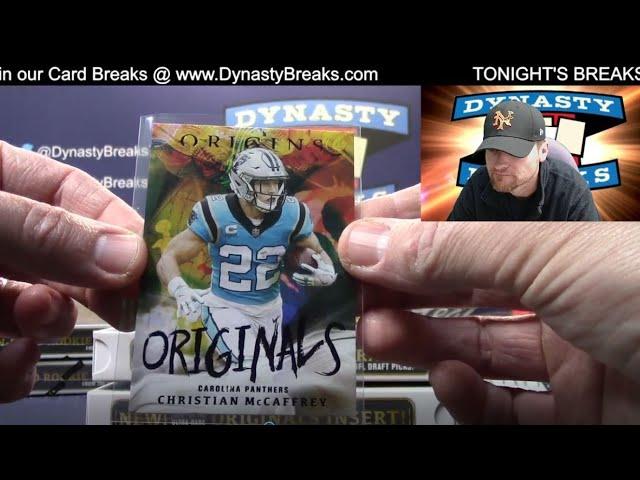2021 Origins Football Card 8 Box Half Case Break #6   Sports Cards