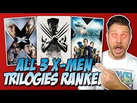 All 3 X-Men Trilogies Ranked!  (Franchise Showdown)