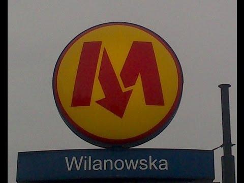 METRO WARSZAWSKIE STACJA WILANOWSKA 2012 HD