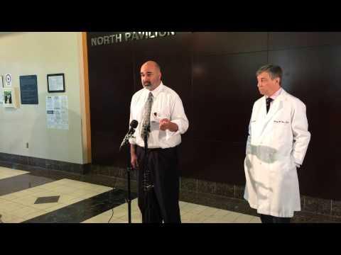 Press Conference updates Ebola scare in Birmingham