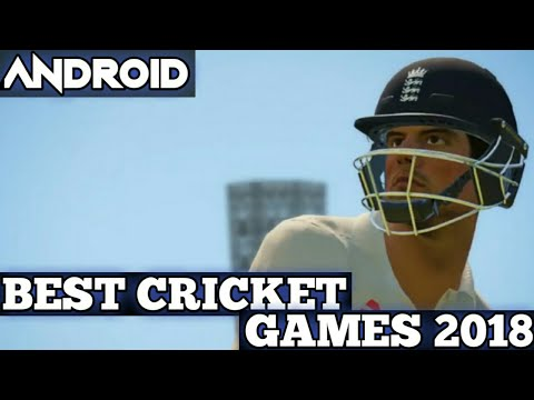 TOP 5 BEST CRICKET GAMES OF 2018 FOR ANDROID DEVICES WITH HUGE GRAPHICS | CRICKET GAMES 2018 ANDROID