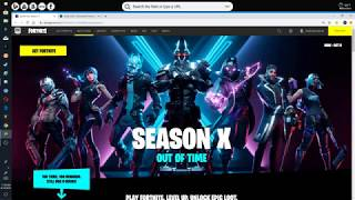 How to change your fortnite username without a verified account Season X 2019 [Reupload]