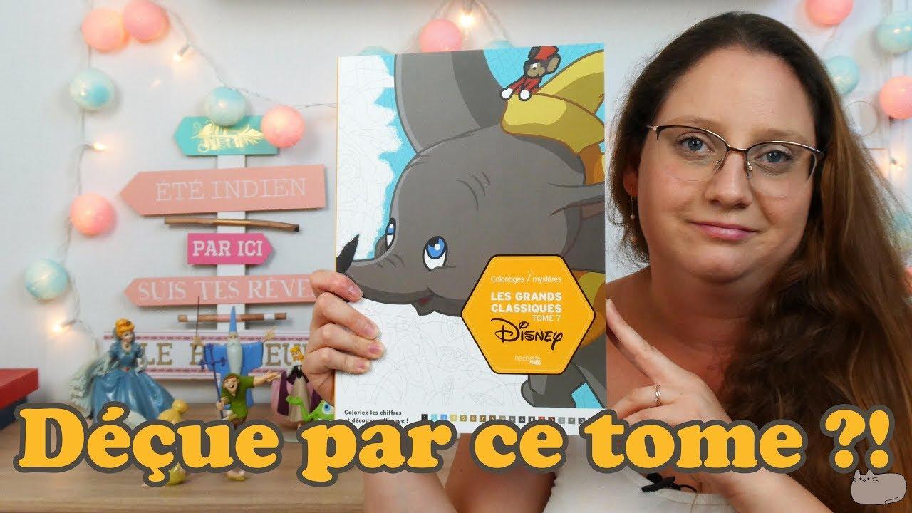 Critique Coloriages Mystères Disney Tome 21 - Les vidéos de Laurie