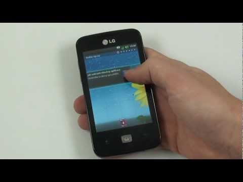 LG Optimus Hub - OS Android 2.3 Gingerbread