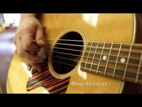 Guitar Close Up - 2013 Gibson J-35 Advanced Jumbo $1750