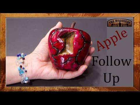 Woodturning Project Q&A Apple Follow-up