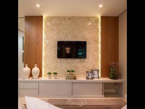 como fazer um painel de tv luxuoso com led super barato youtube. Black Bedroom Furniture Sets. Home Design Ideas