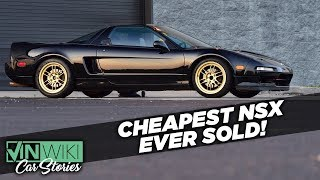 I bought the cheapest NSX ever