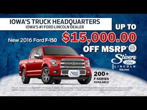 Stivers Ford Lincoln Black Friday 2016
