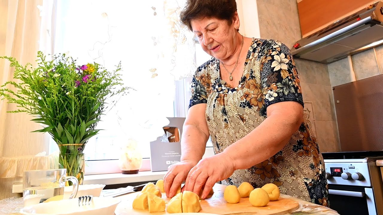"""Песочное печенье """"Курабье Бакинское"""" - рецепт печенья в домашних условиях @Мамины рецепты"""