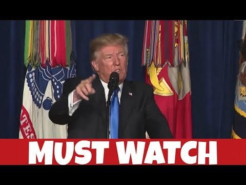 President Donald Trump's Explosive Military Address to the Nation!