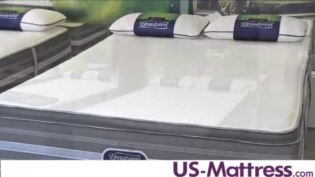 simmons beautyrest recharge hybrid tamara ultimate luxury plush pillow top mattress