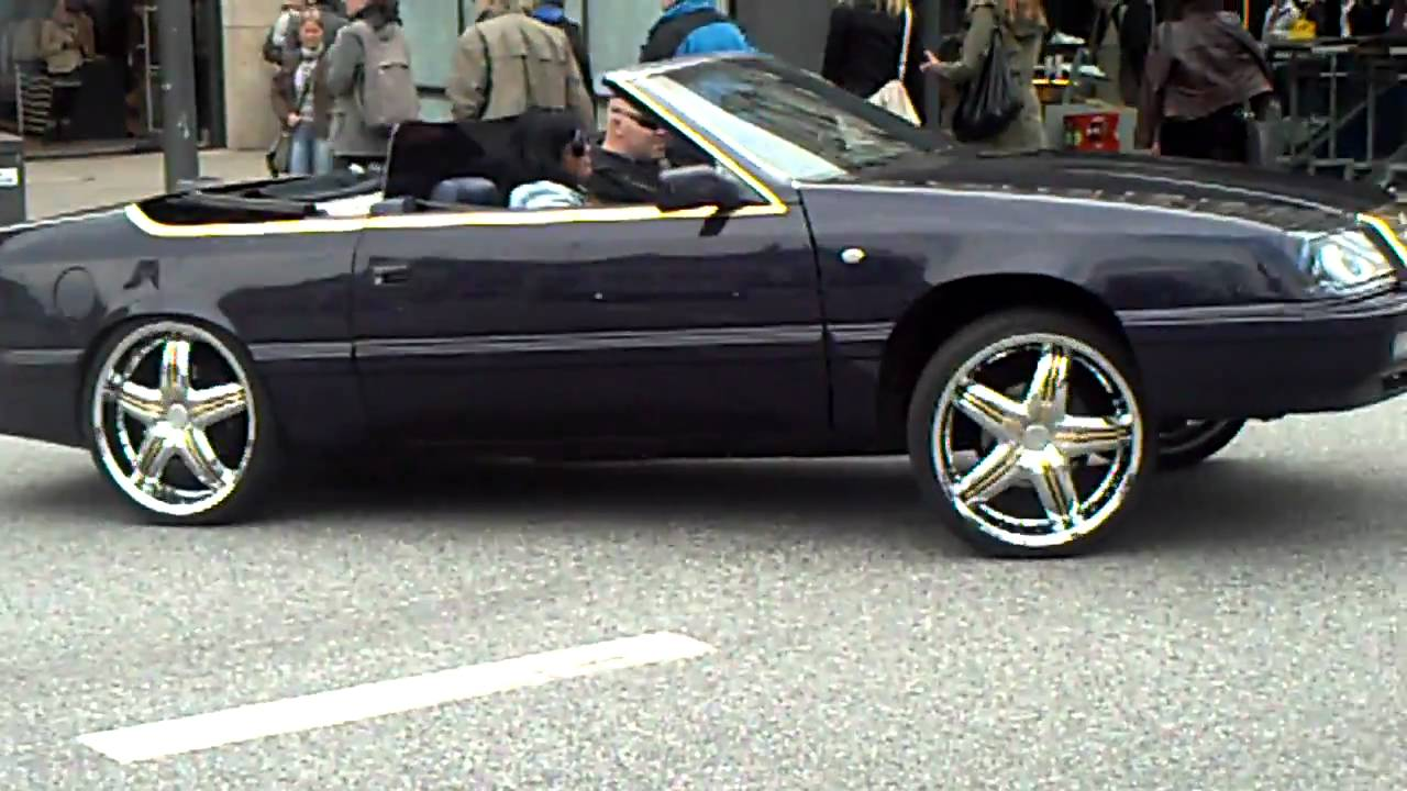 Chrysler Le Baron Lowrider And Lotus Elise Youtube