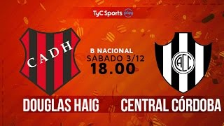 Douglas Haig vs Central Cordoba full match