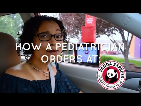 HOW A PEDIATRICIAN ORDERS AT PANDA EXPRESS | @veggiefitkids